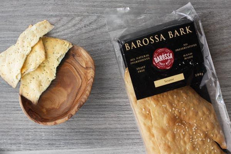 Barossa Kitchen Sesame Barossa Bark 100g Pantry > Biscuits, Crackers & Crispbreads