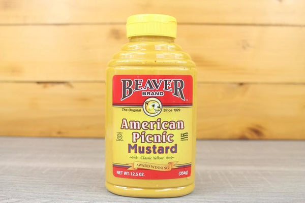 Beaver Amercian Picnic Mustard 354g Pantry > Condiments