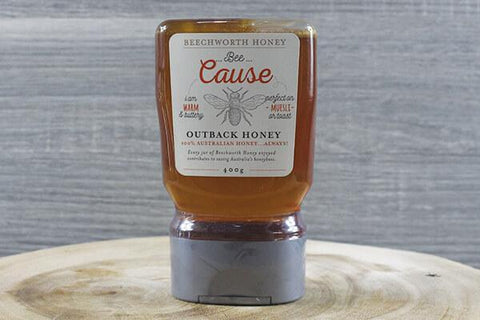 Beechworth Bee Cause Coastal Honey Squeeze 400g