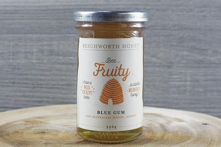 Beechworth Honey Bwrth Bee Fruity Blue Gum Honey Jar 350g Pantry > Nut Butters, Honey & Jam