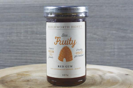 Beechworth Honey Bwrth Bee Fruity Red Gum Honey Jar 350g Pantry > Nut Butters, Honey & Jam