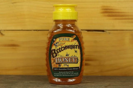Beechworth Honey Bwrth Honey Classic Hive Squeeze 275g Pantry > Nut Butters, Honey & Jam