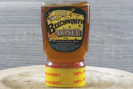 Beechworth Honey Bwrth Honey Classic up/down squeeze 400g Pantry > Nut Butters, Honey & Jam