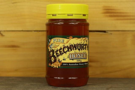 Beechworth Honey Bwrth Honey Pure Jar 500g Pantry > Nut Butters, Honey & Jam