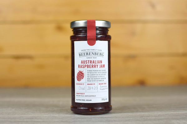 Beerenberg Australian Raspberry Jam 300g  Pantry > Nut Butters, Honey & Jam