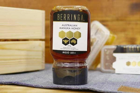 Berringa Manuka Honey 60+ 400g Pantry > Nut Butters, Honey & Jam
