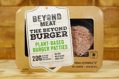 Beyond Meat Beef Free Beast Burger 8oz Meat > Meat Alternatives