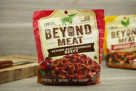 Beyond Meat Beefy Crumble 10oz Meat > Meat Alternatives