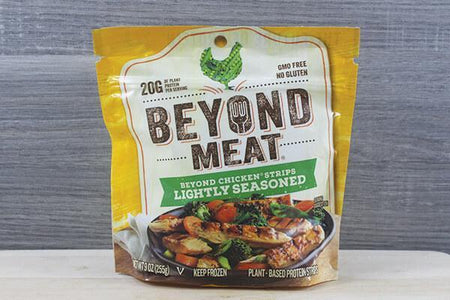 Beyond Meat BM Chicken Fr Strip Lt Seas 9oz Meat > Meat Alternatives