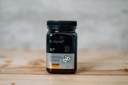 BioHoney Manuka Honey MGO 100+ 500g Pantry > Nut Butters, Honey & Jam