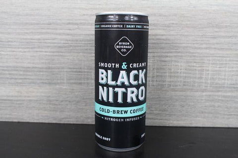 Nitro Cold Brew Coffee: Black