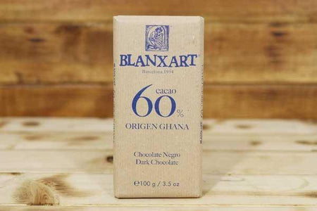 Blanxart Dark Chocolate 60% 100g Pantry > Confectionery