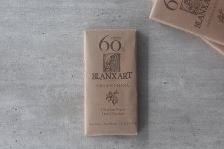 Blanxart Dark Chocolate 60% Cacao Bar 125g Pantry > Confectionery