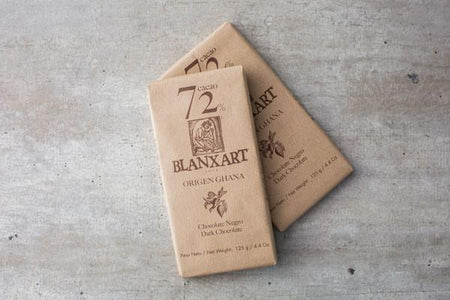 Blanxart Dark Chocolate 72% Cacao Bar 125g Pantry > Confectionery
