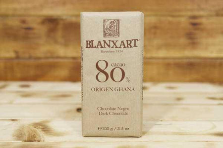 Blanxart Dark Chocolate 80% 100g Pantry > Confectionery