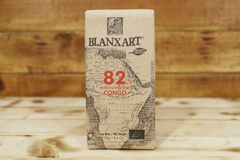 Blanxart Organic Dark Chocolate 82% Cacao Bar 125g Pantry > Confectionery