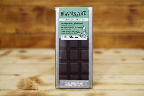 Blanxart Sugar-Free Dark Chocolate 74% 100g Pantry > Confectionery