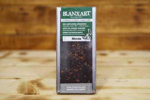Blanxart Sugar-Free Dark Chocolate Nibs 85% 100g Pantry > Confectionery