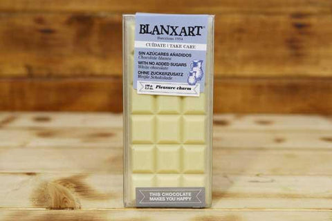 Blanxart Sugar-Free White Chocolate 100g Pantry > Confectionery