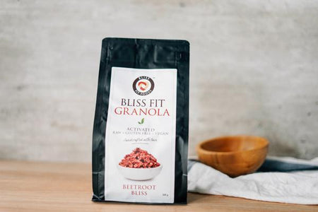 Bliss Fit Food Beetroot Bliss Granola 300g Pantry > Granola, Cereal, Oats & Bars