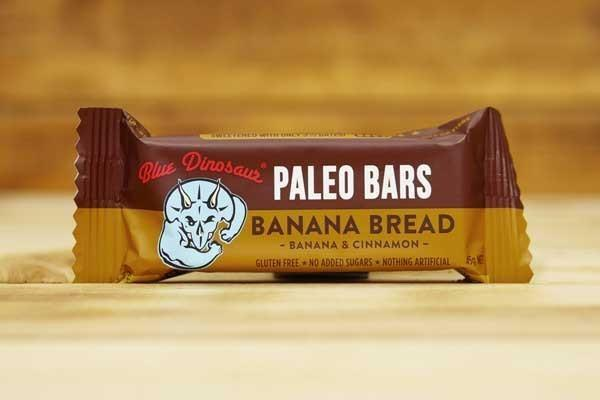 Blue Dinosaur Banana Bread 45g Pantry > Granola, Cereal, Oats & Bars