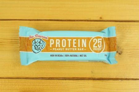 Blue Dinosaur BD Protein Bar - Peanut Butter 60g Pantry > Granola, Cereal, Oats & Bars