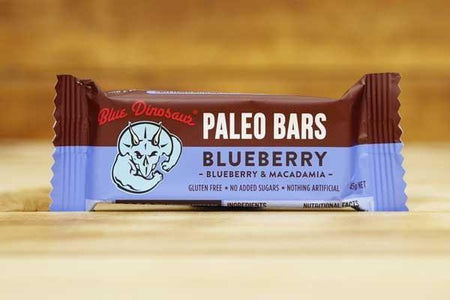 Blue Dinosaur Blueberry 45g Pantry > Granola, Cereal, Oats & Bars
