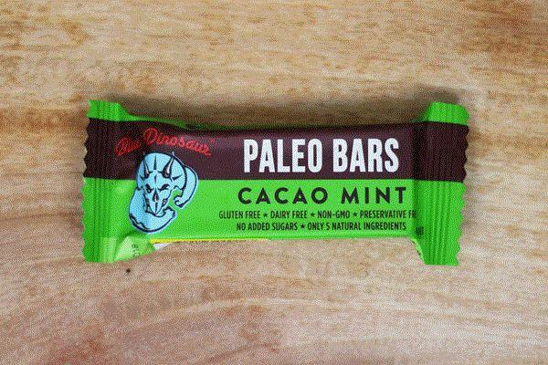 Blue Dinosaur Cacao Mint Paleo Bar 45g Pantry > Granola, Cereal, Oats & Bars