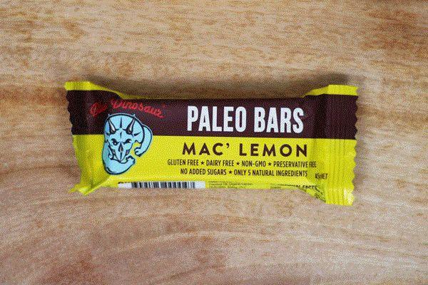 Blue Dinosaur Mac' Lemon Paleo Bar 45g Pantry > Granola, Cereal, Oats & Bars
