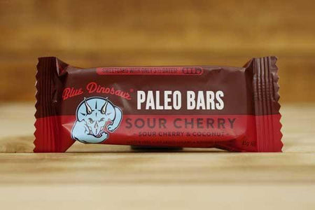 Blue Dinosaur Sour Cherry 45g Pantry > Granola, Cereal, Oats & Bars