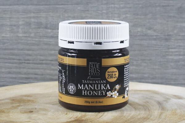 Blue Hills Apiary Blue Hills Manuka 100+ Honey 250g Pantry > Nut Butters, Honey & Jam
