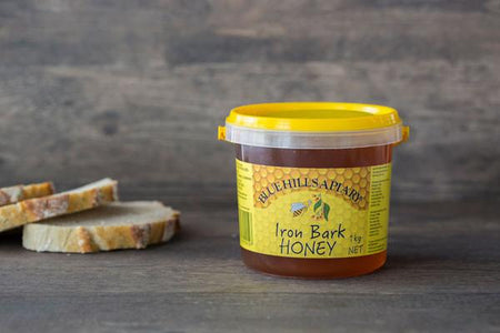 Blue Hills Apiary Iron Bark Honey 1kg Pantry > Nut Butters, Honey & Jam
