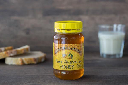 Blue Hills Apiary Pure Australian Honey 500g Pantry > Nut Butters, Honey & Jam