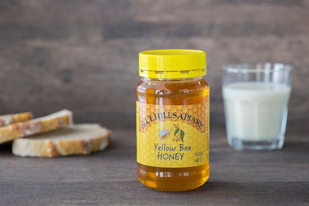 Blue Hills Apiary Yellow Box Honey 500g Pantry > Nut Butters, Honey & Jam