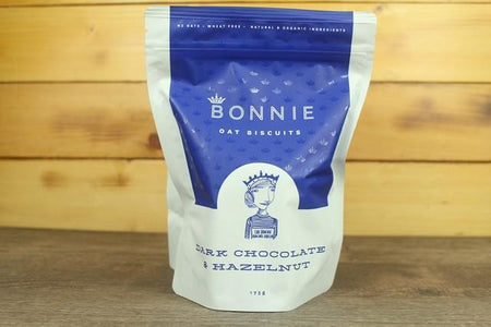 Bonnie Goods Bonnie Oatbiscuits Dark Chocolate & Hazelnut Pantry > Biscuits, Crackers & Crispbreads