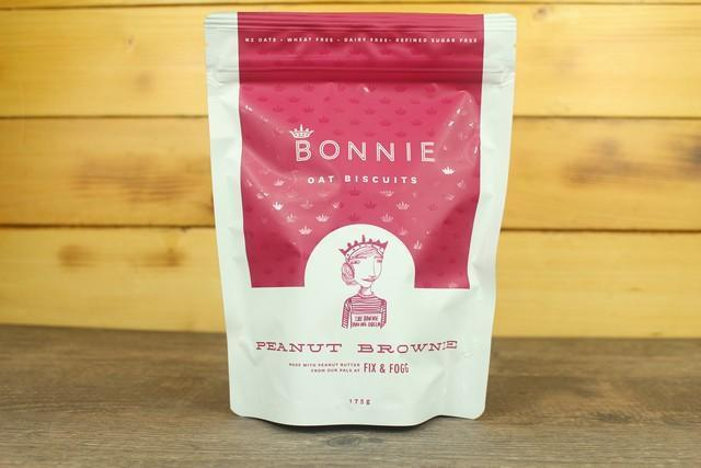 Bonnie Goods Bonnie Oatbiscuits Peanut Brownie Pantry > Biscuits, Crackers & Crispbreads