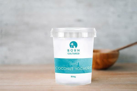 Born Cultured Born Cultured Natural Coconut Yoghurt 800g Dairy & Eggs > Yoghurt