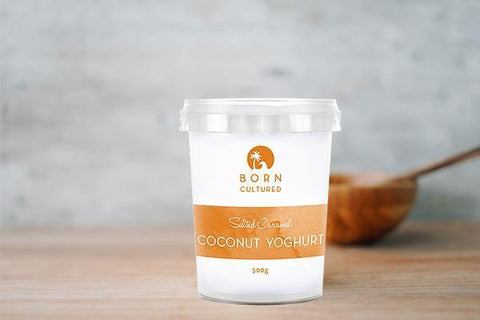 Born Cultured Cocoa Coconut Yoghurt 800g