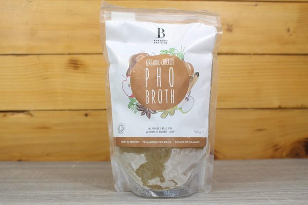 Borough Broth Free Range Organic Chicken Pho Broth 324g Pantry > Broths, Soups & Stocks