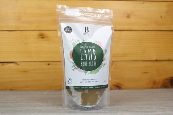 Borough Broth Grass Fed Organic Lamb Bone Broth 324g Pantry > Broths, Soups & Stocks