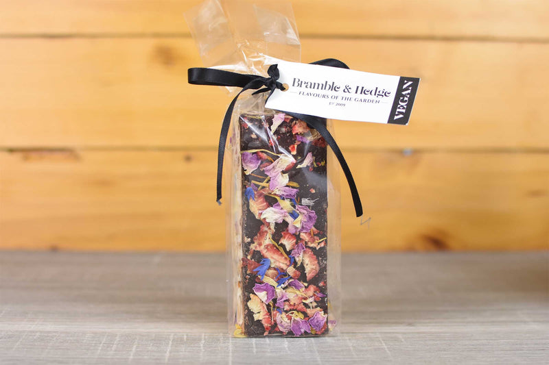 Bramble & Hedge Vegan Strawberry & Elderflower Nougat 150g Pantry > Confectionery