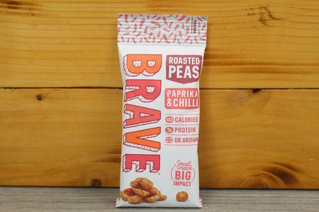 Brave Snacks Brave Paprika & Chilli Peas 35g Pantry > Cookies, Chips & Snacks