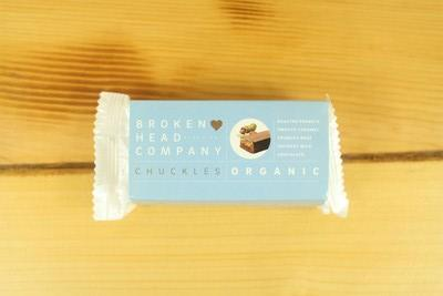 Broken Head Company Chuckles Peanut, Caramel & Activated Buckwheat Chocolate Pantry > Confectionery