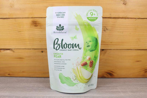 Bloom Organic Smooth Banana 120g