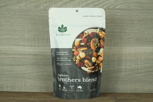 Brookfarm Brother Blend Explorer Mix 200g Pantry > Dried Fruit & Nuts