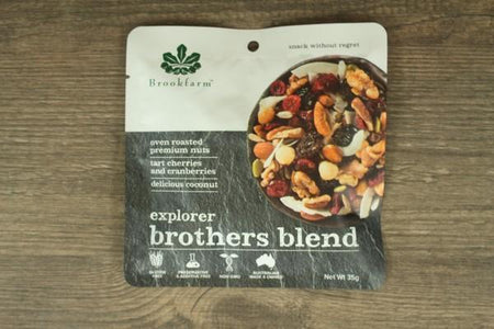 Brookfarm Brother Blend Explorer Mix 35g Pantry > Dried Fruit & Nuts