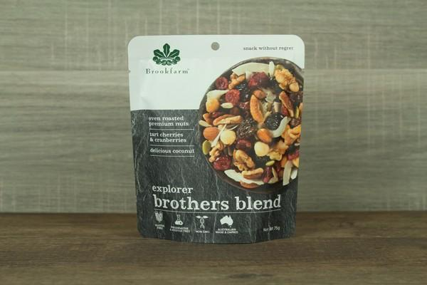 Brookfarm Brother Blend Explorer Mix 75g Pantry > Dried Fruit & Nuts