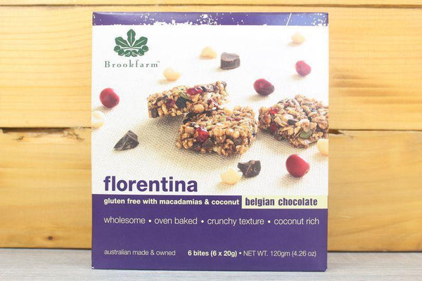 Brookfarm Florentina Bars 6x20g Pantry > Granola, Cereal, Oats & Bars