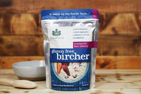 Brookfarm Gluten Free Bircher 400g Pantry > Granola, Cereal, Oats & Bars
