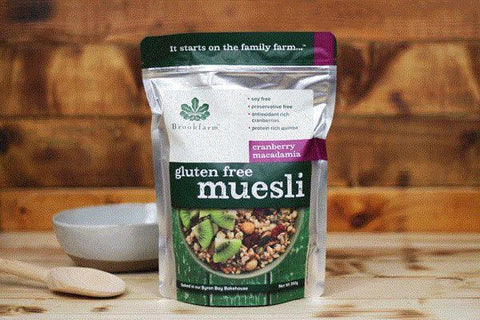 Toasted Cranberry Macadamia Muesli Tub 75g